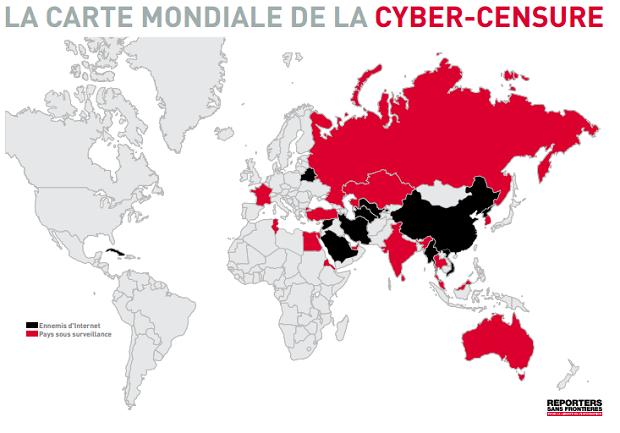 Cyber censure en 2011