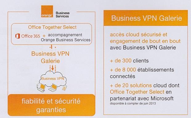 Orange Business Services ajoute un VPN à Office 365 et